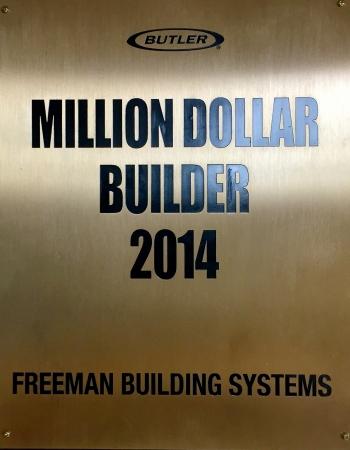 Butler Million Dollar Builder 2014